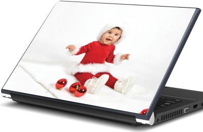 Artifa Baby in Christmas dress Vinyl Laptop Decal 15.6