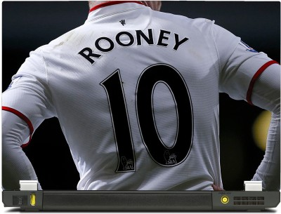 SkinShack Wayne Rooney No10 Jersey (14.1 inch) Vinyl Laptop Decal 14.1