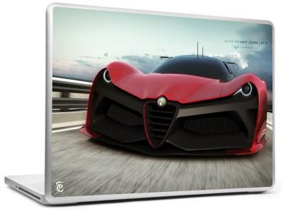 Print Shapes Alfa romeo supercar car Vinyl Laptop Decal 15.6