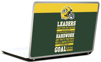 Lab No. 4 Vince Lombardi American Football Player Vinyl Laptop Decal