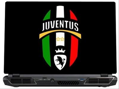 SkinShack Juventus FC Logo (17 inch) Vinyl Laptop Decal 17