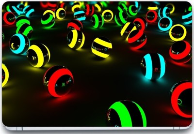 Trendsmate Neon Balls 3M Vinyl and Lamination Laptop Decal 15.6