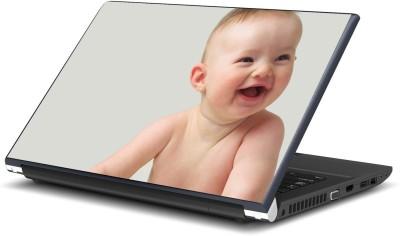 Artifa Adorable Baby Smiling Vinyl Laptop Decal 15.6
