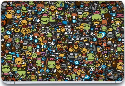 Trendsmate Anime Collage 3M Vinyl and Lamination Laptop Decal 15.6