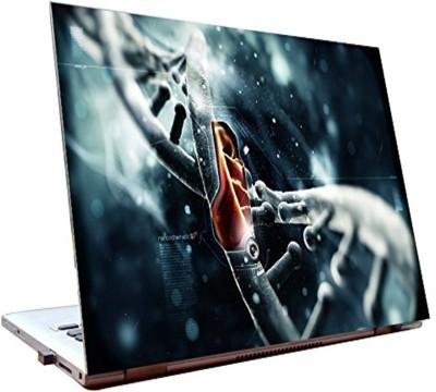 Dealmart Laptop Skins 15.6 inch - 3d - Technology - HD Quality Vinyl Laptop Decal 15.6
