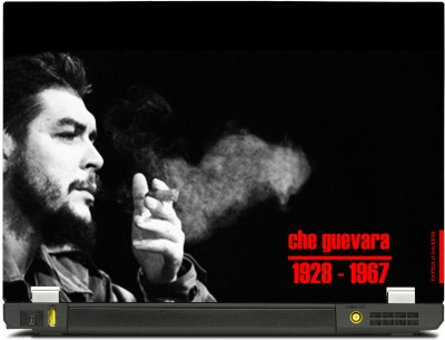 Skinkart Che Guevara Smoking Vinyl Laptop Decal (All Laptops with screen size upto 13.3 inch)