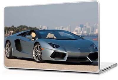 Global Lamborghini roadster Vinyl Laptop Decal