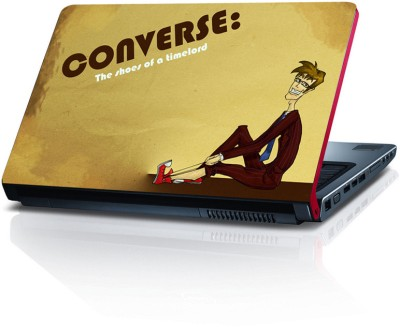 Shopkeeda Converse The Shoes Of A Timelord Vinyl Laptop Decal