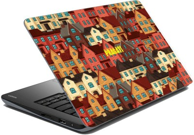 meSleep Urban City for Pragati Vinyl Laptop Decal