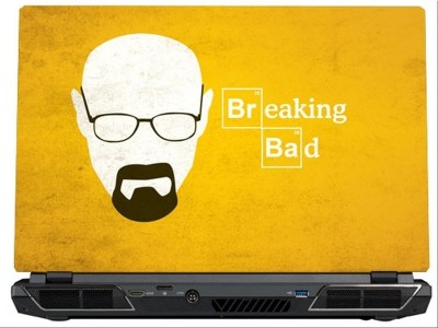 SkinShack Breaking Bad Minimalistic (17 inch) Vinyl Laptop Decal 17
