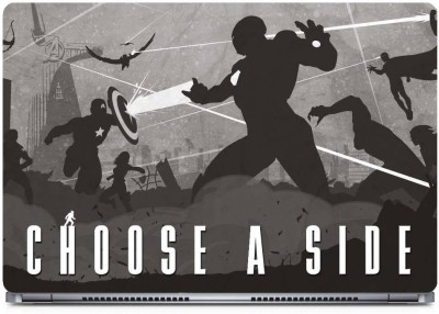 Marvel Choose a side-War Vinyl Laptop Decal