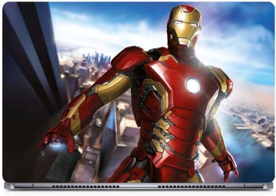 Marvel Iron Man Vinyl Laptop Decal