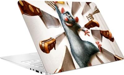AV Styles Rat In Knife Trouble By Av Styles Vinyl Laptop Decal 15.6