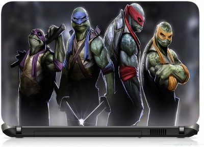 VI COLLECTIONS TURTLE WARRIORS PRINTED VINYL Laptop Decal 15.6
