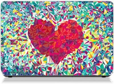 Friendly Formals Heart Mosiac Vinyl Laptop Decal 15.6