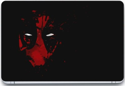 Trendsmate Red Skull 3M Vinyl and Lamination Laptop Decal 15.6