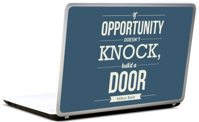 Lab No. 4 Opportunity Build A Door Designer Vinyl Laptop Decal