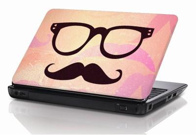 BSEnterprise Real Mustache Vinyl Laptop Decal