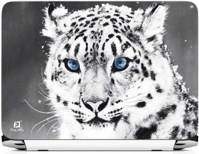 FineArts Snow Leopard Vinyl Laptop Decal 15.6