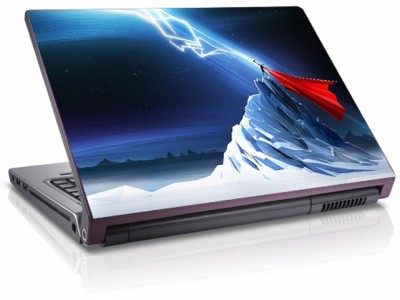 Moneysaver Thor Lightning Art Vinyl Laptop Decal 15.6