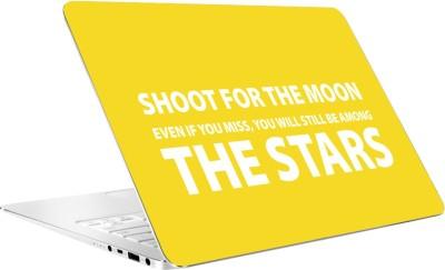 AV Styles Shoot For The Moon Vinyl Laptop Decal
