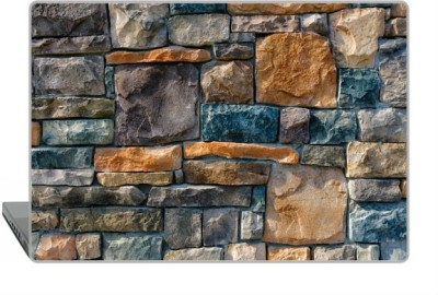 Digitek World Skin of Decorative Stone High Quality 3M Vinyl Laptop Decal 15.6