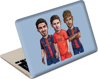 The Fappy Store Barcelona Vector Laptop Skin Vinyl Laptop Decal 13.6