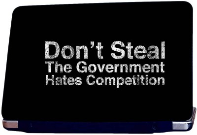 Style Clues The Government Hates Competition Skin Decal Vinyl Laptop Decal