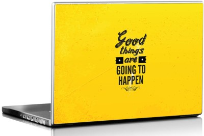 Seven Rays Good Things Are Going To Happen Vinyl Laptop Decal