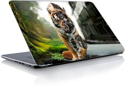 Devendra Graphics Mechanical Lion Vinyl Laptop Decal