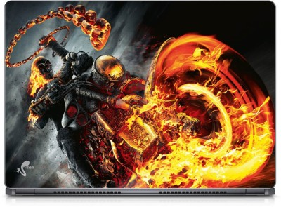 Seamen Ghost Rider Vinyl Laptop Decal 15.6