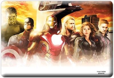 Planet Superheroes Avengers Entourage Vinyl Laptop Decal