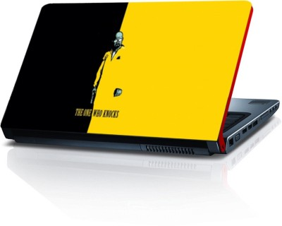 Shopmillions The One Who Knocks Vinyl Laptop Decal 15.6