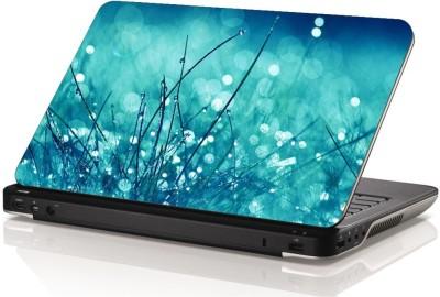 Swati Graphics Sgls060 Blue Bubbles Vinyl Laptop Decal 15.6