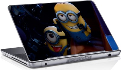Innovate Funny Two Minions_071 Vinyl Laptop Decal 15.6