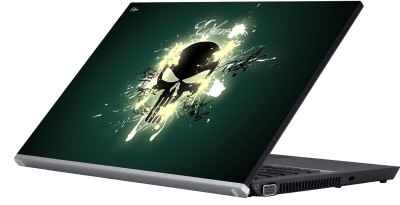 Eclipse Skull Elagance Vinyl Laptop Decal