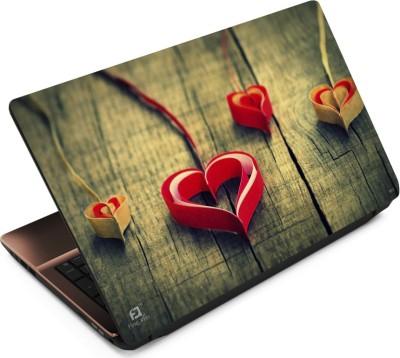 Finest Paper Heart Vinyl Laptop Decal 15.6