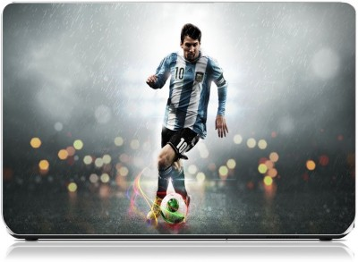 Friendly Formals Lionel Messi Skills Vinyl Laptop Decal 15.6