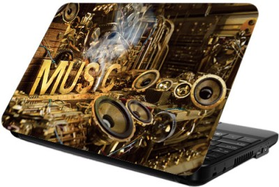 Printland Music Vinyl Laptop Decal 13.5