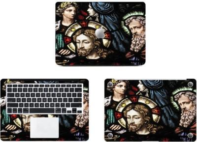 Swagsutra Jesus Glass Vinyl Laptop Decal