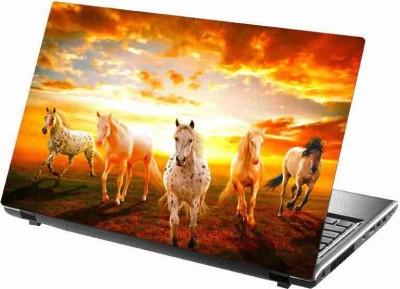 virtual prints horse image digitally printed Laptop Decal 15