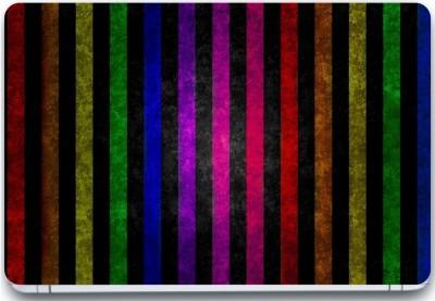 Trendsmate Color Stripes 3M Vinyl and Lamination Laptop Decal 15.6