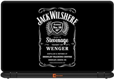 Ownclique Jack Wilshere-Jack Daniels Impression Vinyl Laptop Decal