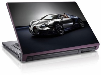 Moneysaver 2014 Bugatti Veyron Vinyl Laptop Decal 15.6