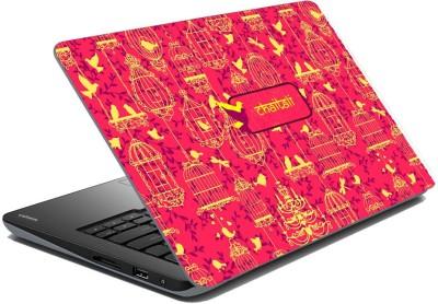 meSleep Ethnic Birds for Chaitali Vinyl Laptop Decal 15.6