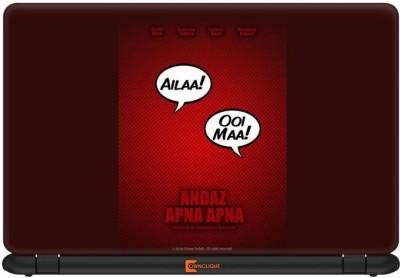 Ownclique Andaz Apna Apna Minimal Vinyl Laptop Decal