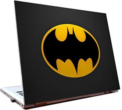 Dealmart Laptop Skins 15.6 inch - Batman - Logo - Yellow - HD Quality Vinyl Laptop Decal 15.6