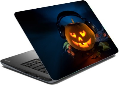 CrazyLiner Halloween Vinyl Laptop Decal 15.6