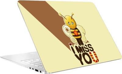 AV Styles I Miss You Vinyl Laptop Decal 15.6