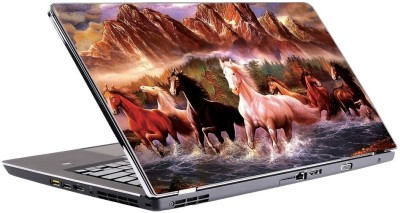 Innovate Beautifull Seven Horse Vinyl Laptop Decal 15.6